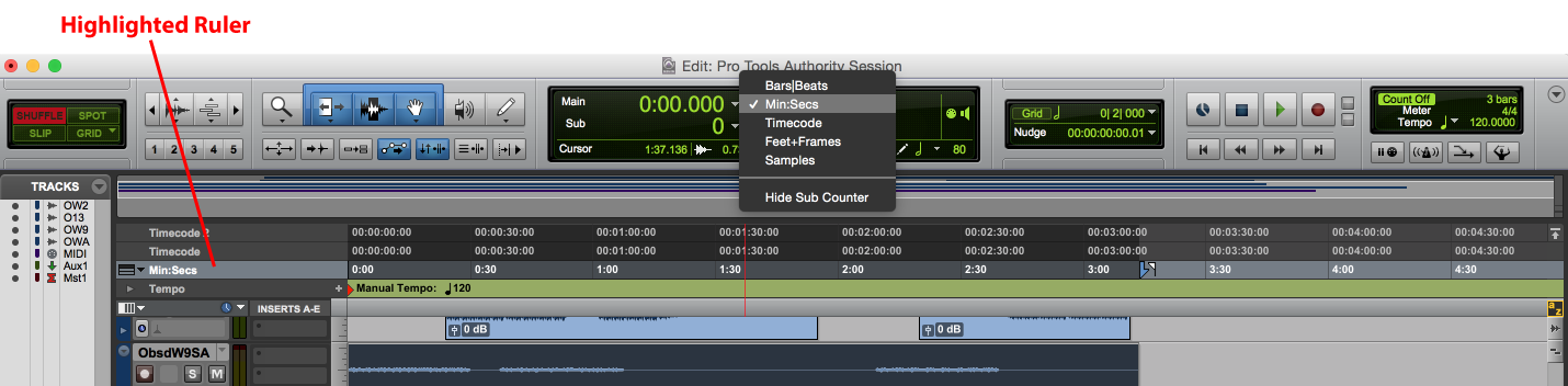 Time Scales in Pro Tools: Your Options & How to Use Them - Pro