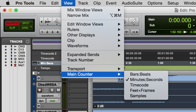 Time Scales in Pro Tools: Your Options & How to Use Them