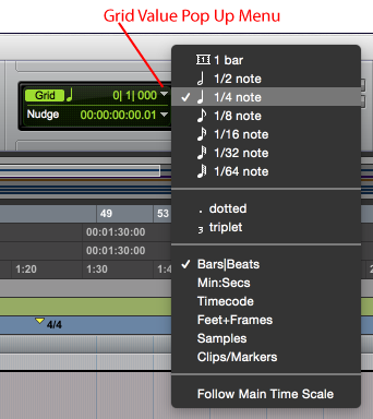 Configuring the Grid in Pro Tools - Pro Studio Live Blog
